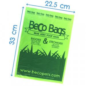 Beco Bags Sacs à Déjections - 60 pièces