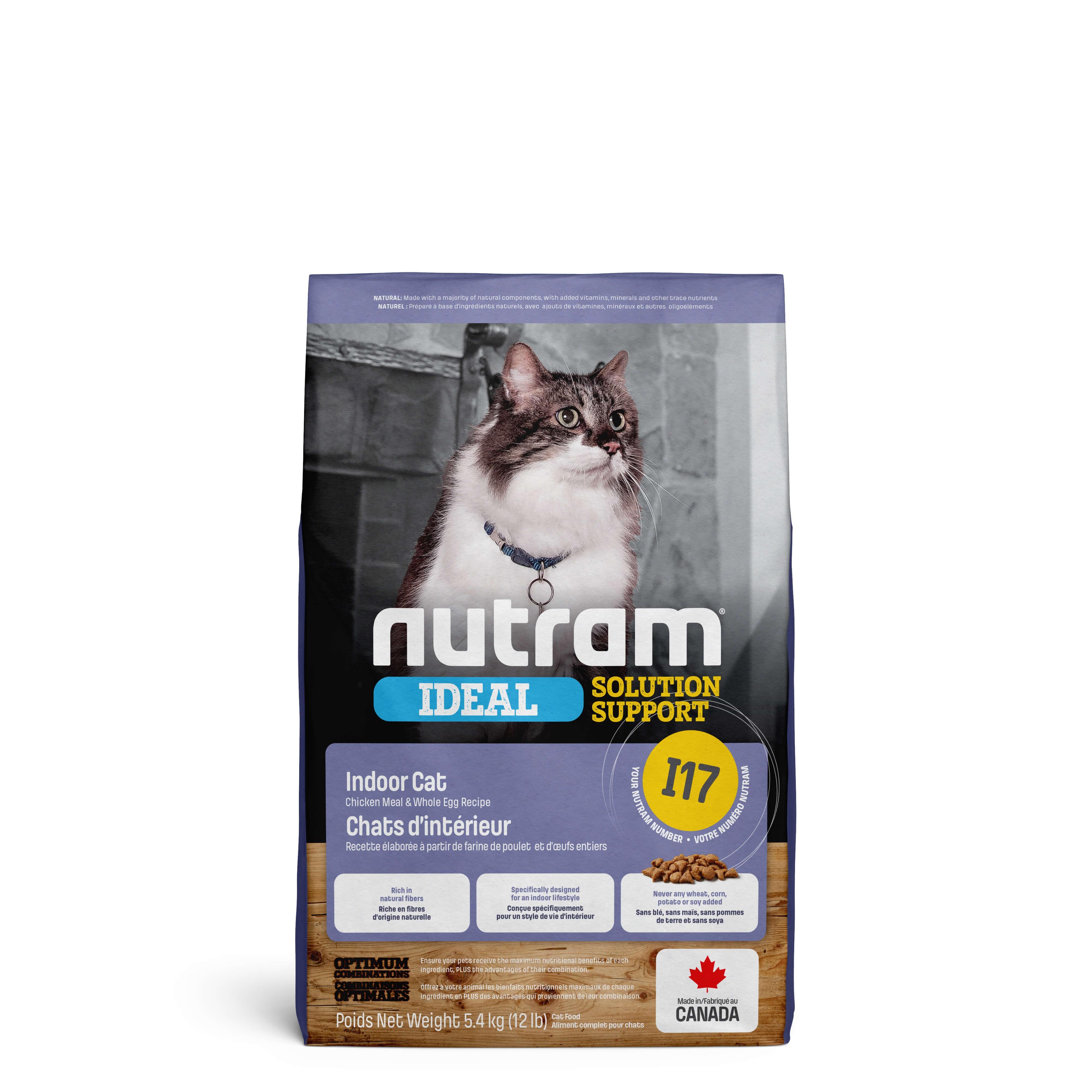 Nutram Ideal Solution Support Indoor Shedding I17 Chat