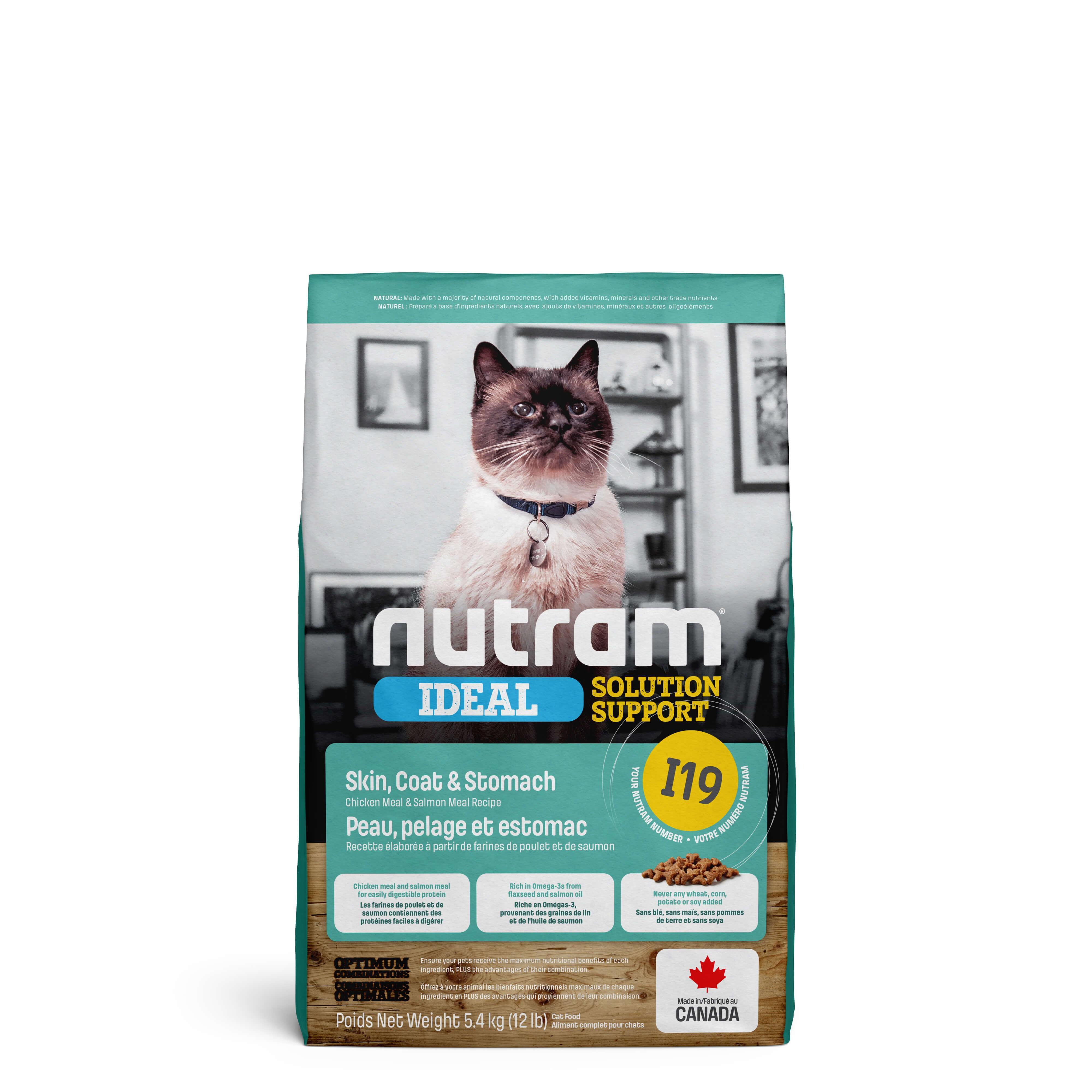 Nutram Ideal Solution Support Sensitive Skin I19 Chat
