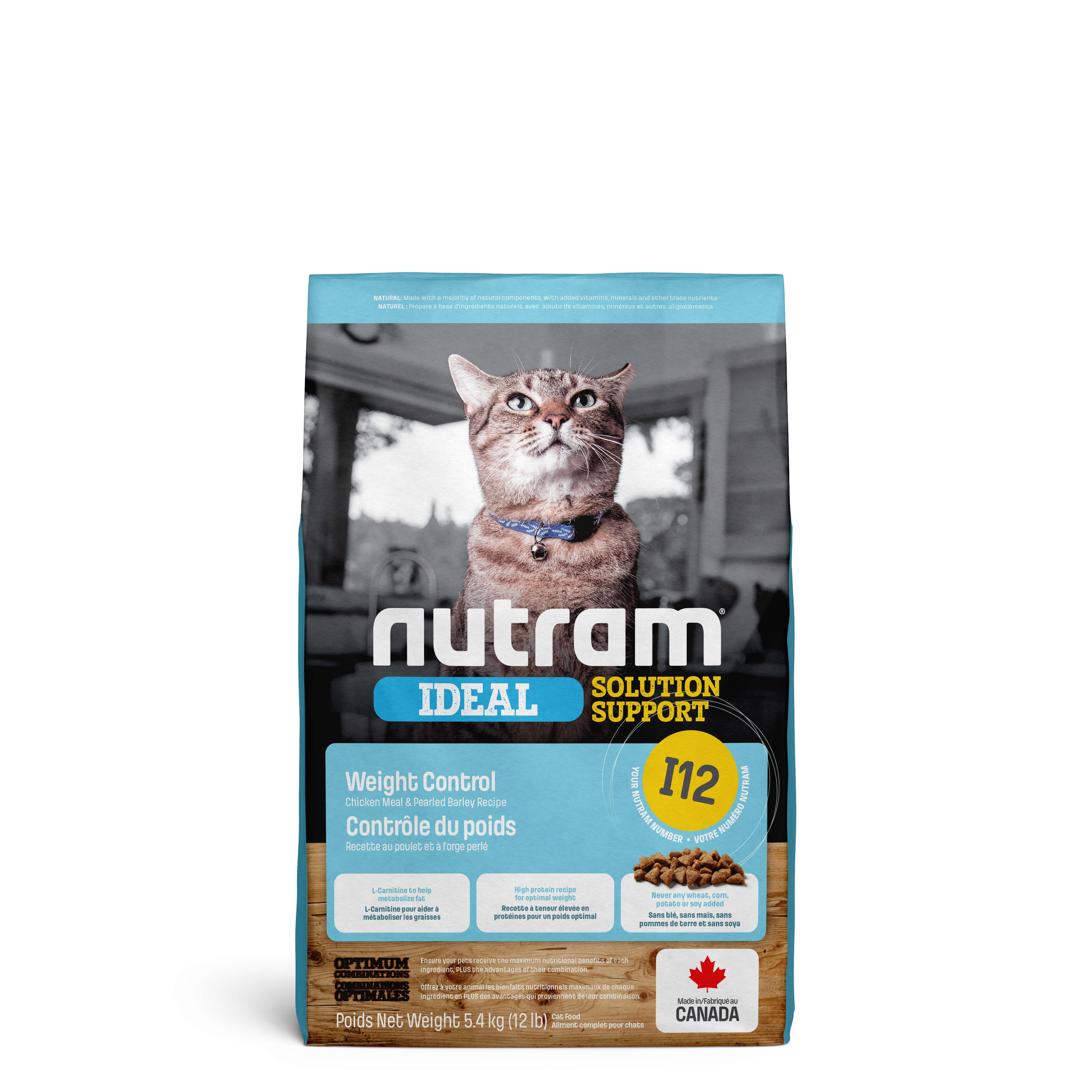Nutram Ideal Solution Support Weight Control I12 Chat