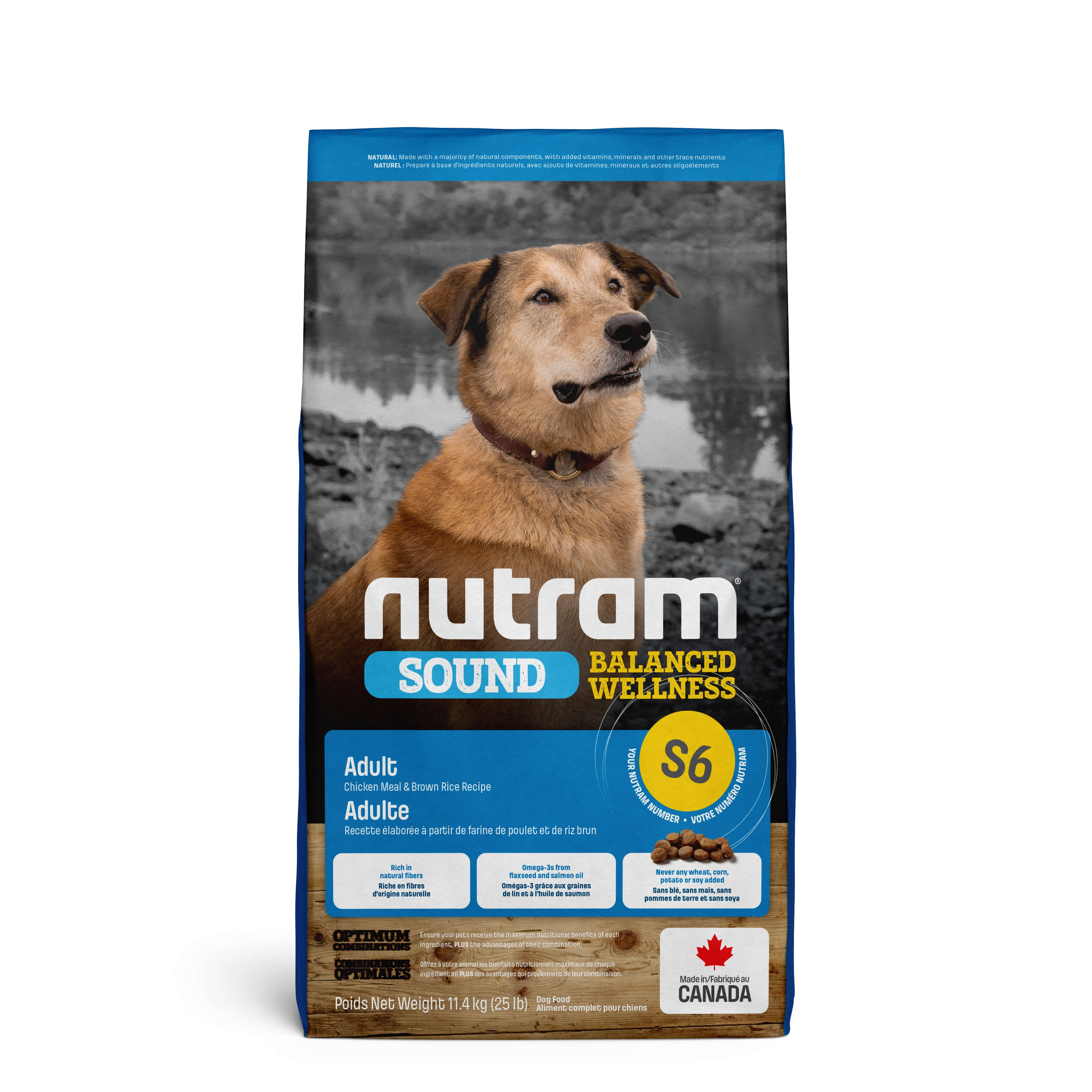 Nutram Sound Balanced Wellness Adult pour chien