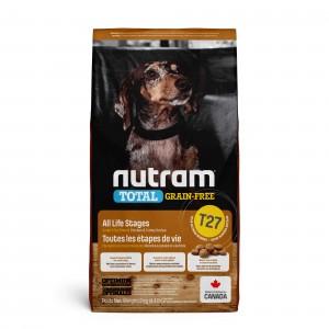 Nutram Graanvrij Kip & kalkoen T27 hondenvoer