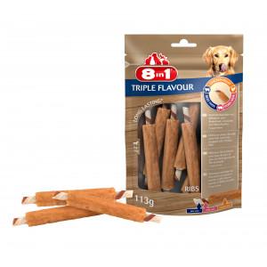 8in1 Triple Flavour ribs hondensnacks