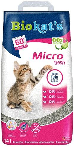 Litière pour Chat Biokat Micro Fresh