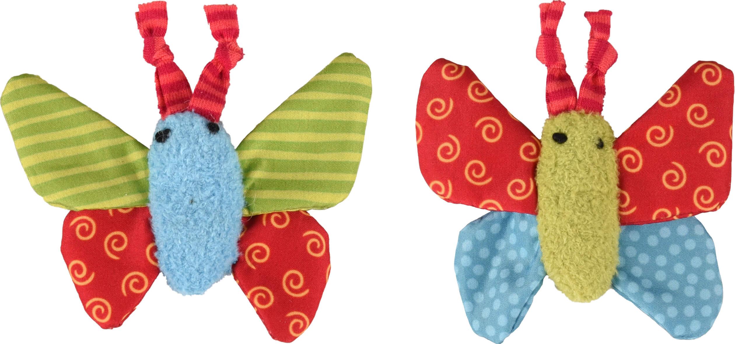 Kattenspeelgoed Vlinder