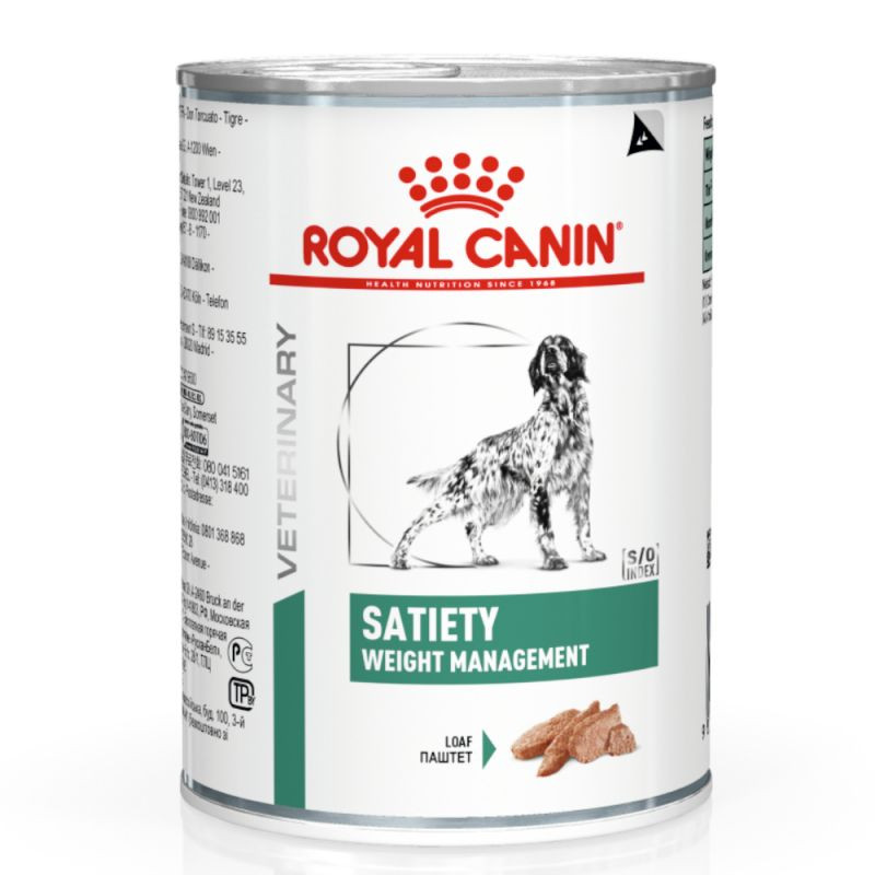 Royal Canin Veterinary Satiety Weight Management pâtée pour chien (410 g)