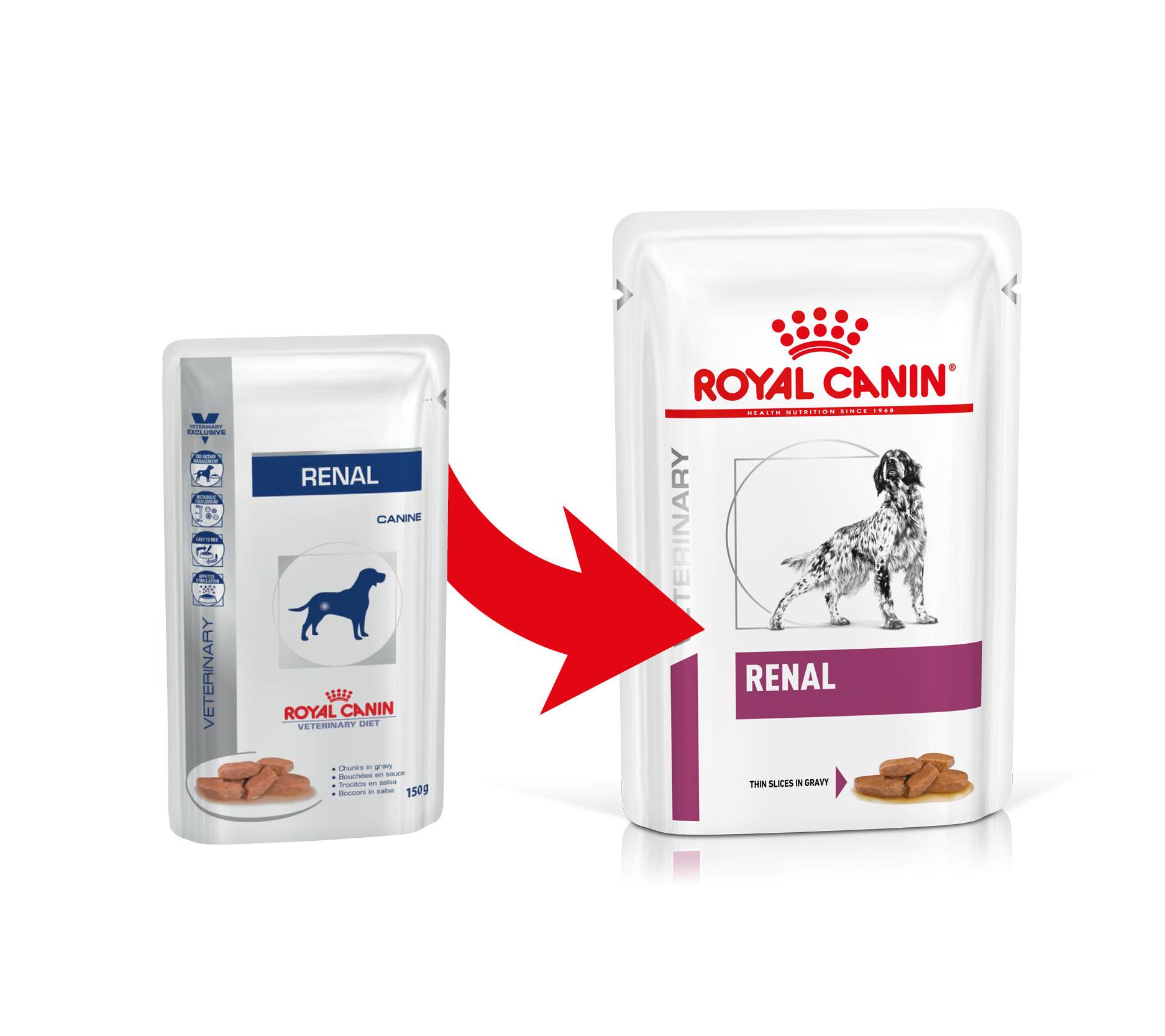 Royal Canin Veterinary Diet Renal Sachets pour Chien