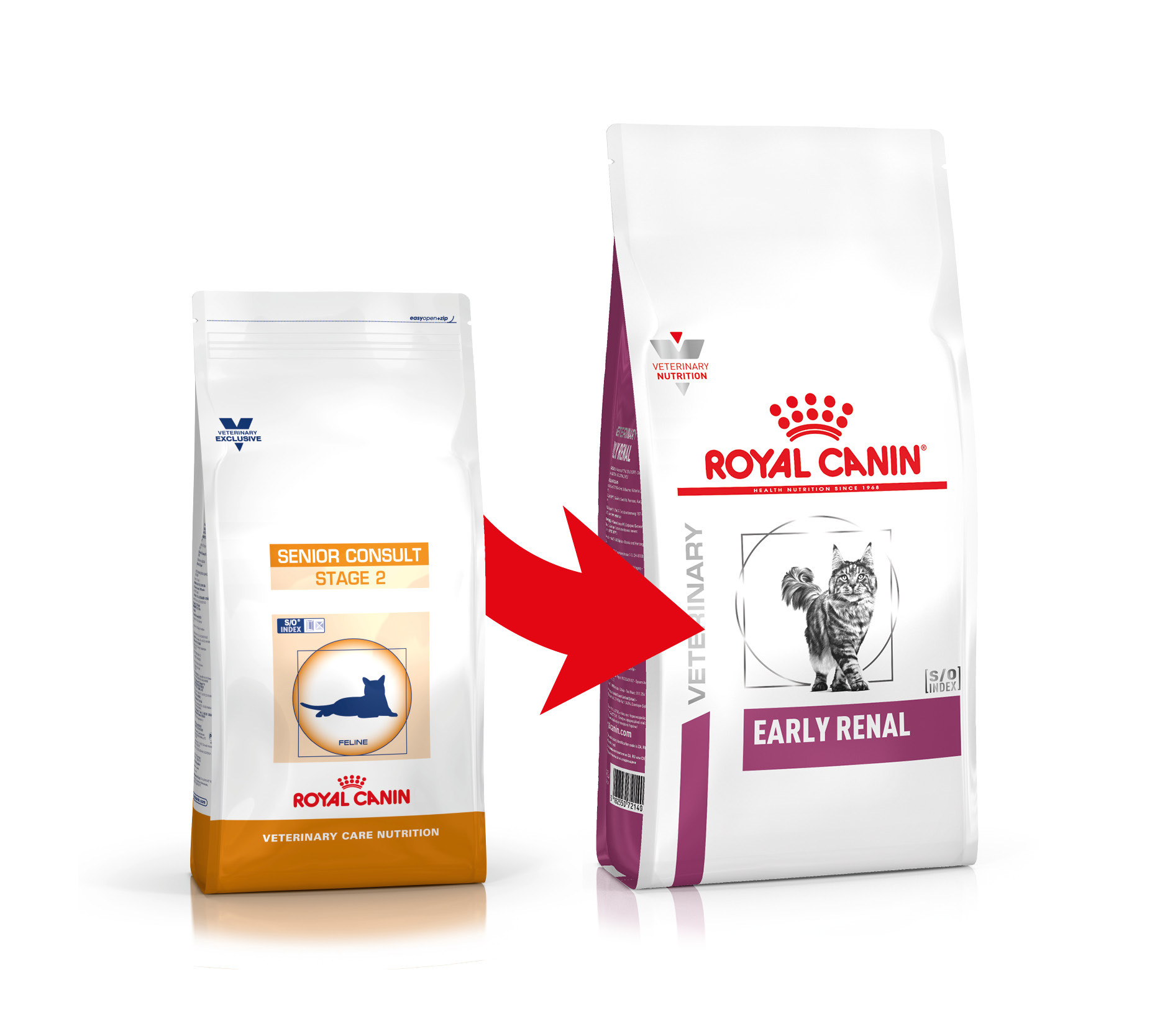 Royal Canin VCN Senior Consult Stage 2 pour chat