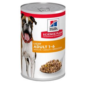 Hill's Adult Light Kip blik hondenvoer