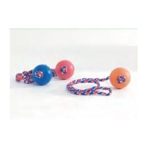 Balle en caoutchouc avec corde pour Chiens