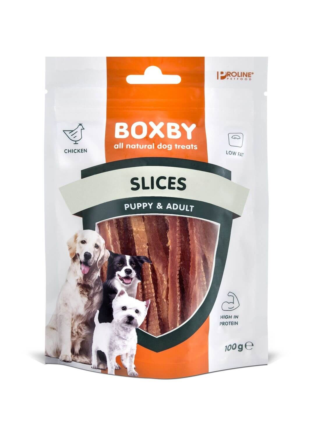 Boxby for dogs Slices