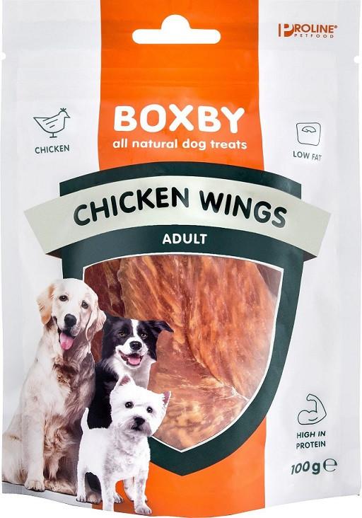 Boxby Ailes de Poulet pour chien