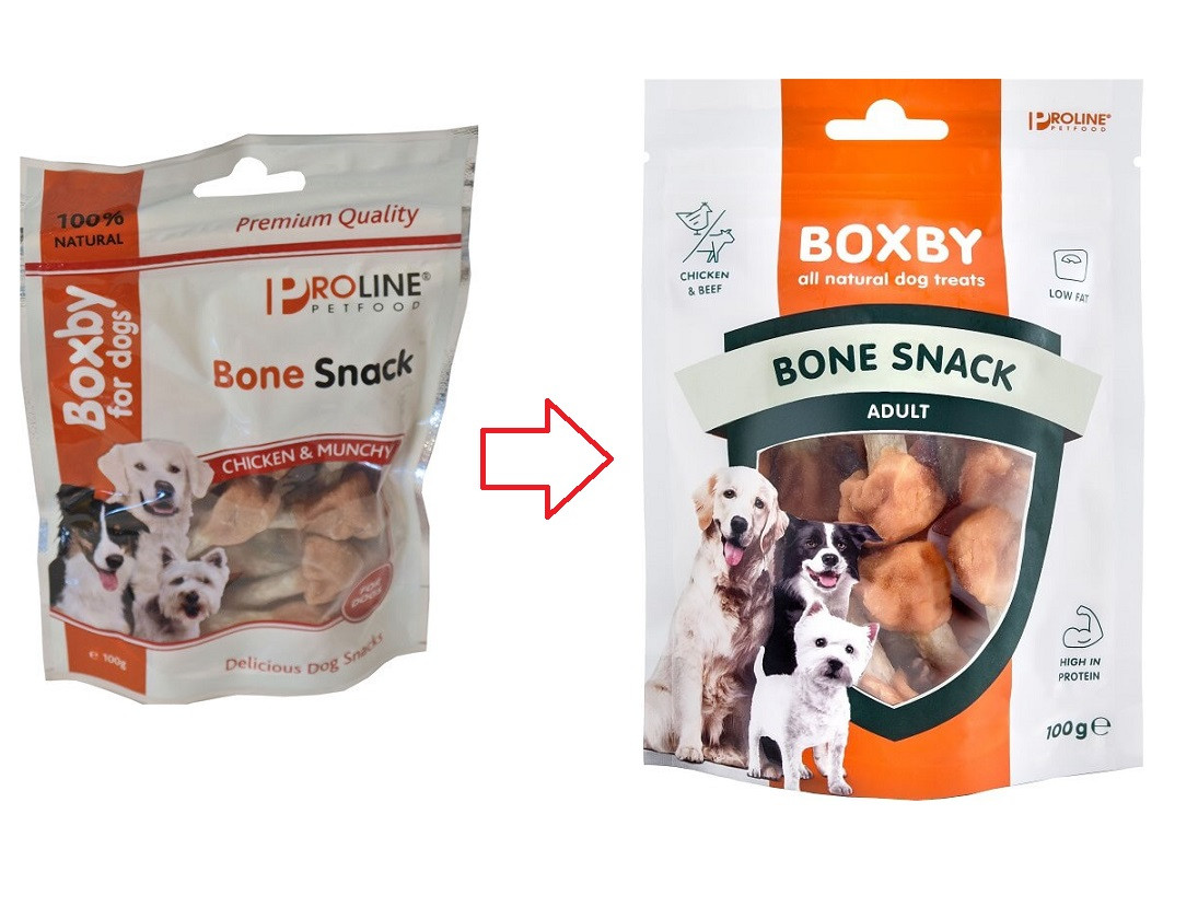 Boxby for dogs Bone Snack