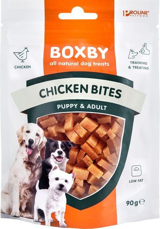 Boxby Bites Poulet pour chien
