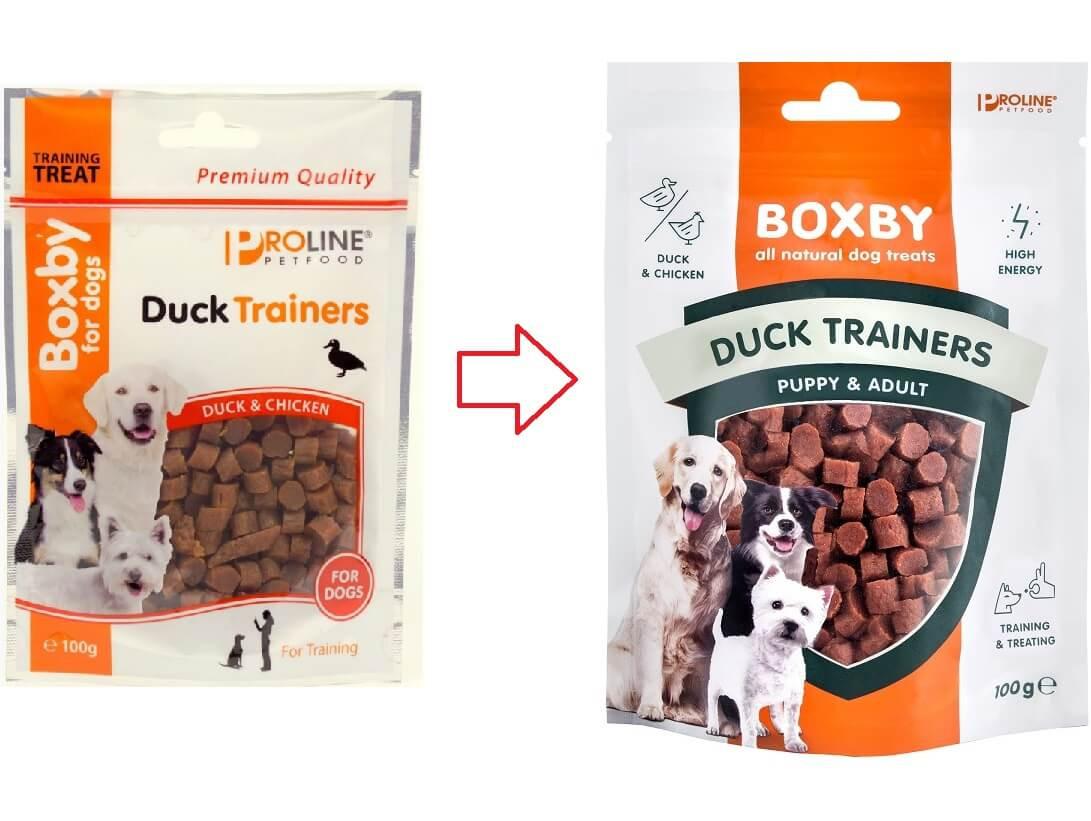 Friandises pour chien au canard Boxby Duck Trainers