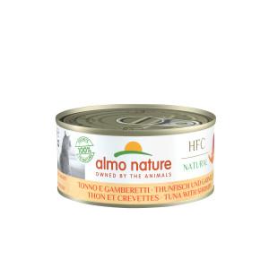 Almo Nature HFC Thon Crevettes 150g pour chat