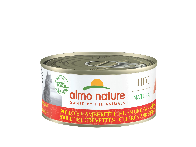 Almo Nature HFC Poulet Crevettes pour chat