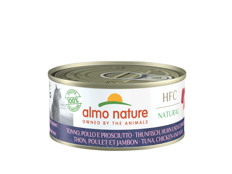 Almo Nature HFC Thon, Poulet Jambon pour chat