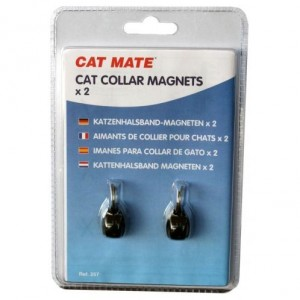 Cat Mate Collar Magnets (2x) voor de kat