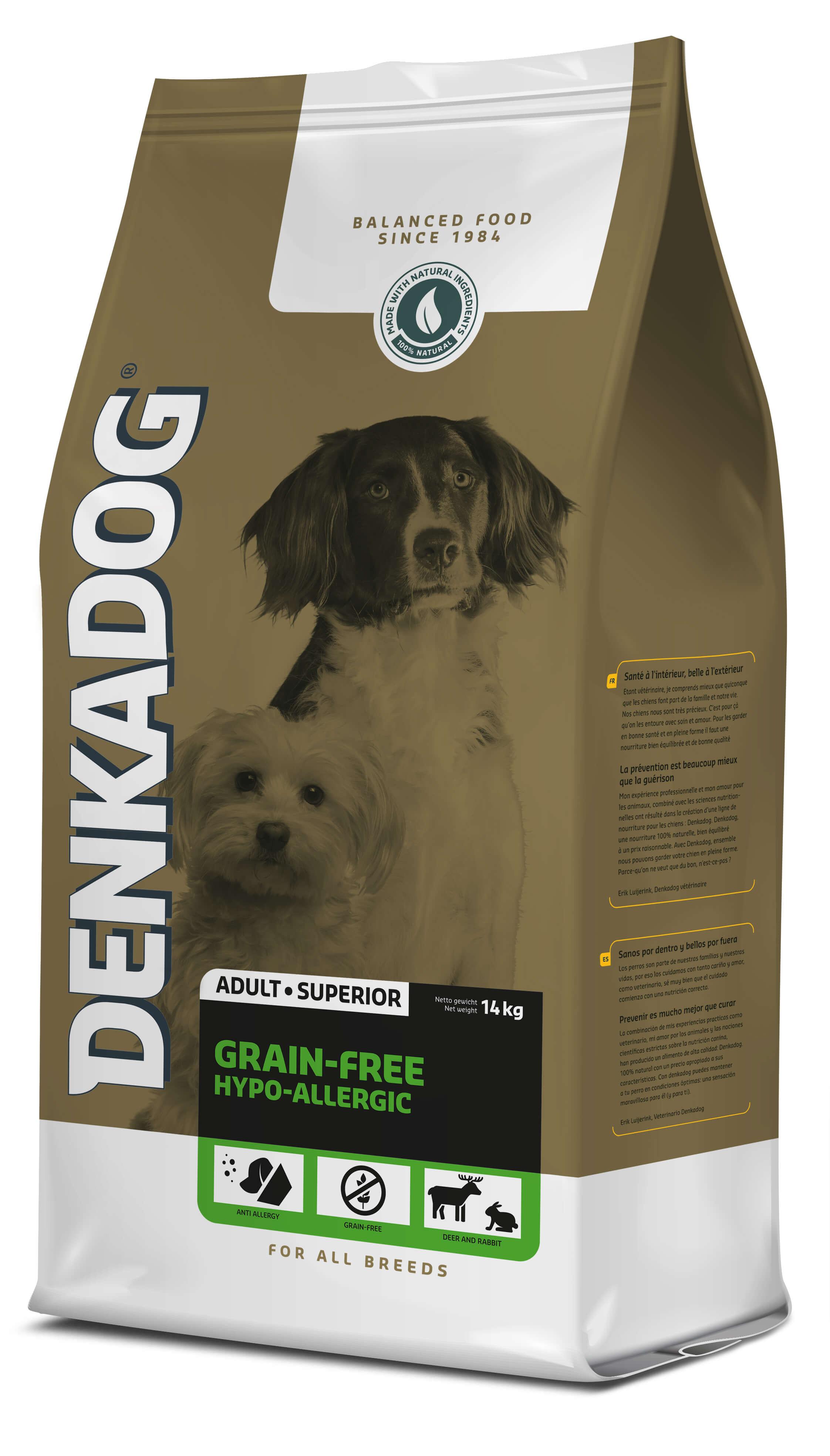 Denkadog Grain-Free Hypo-Allergic hondenvoer