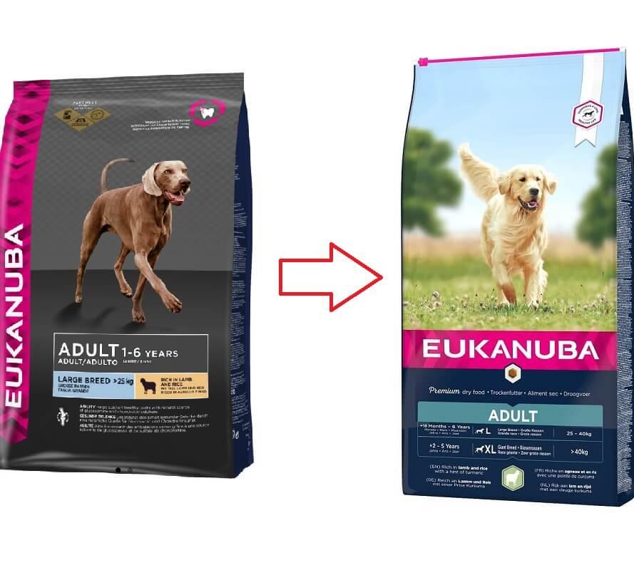 Eukanuba Adult Large Breed agneau riz pour chien