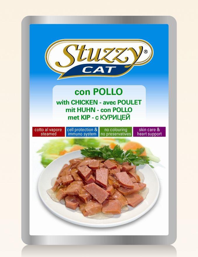 Stuzzy Cat met kip nat kattenvoer 1 x 100 gr.