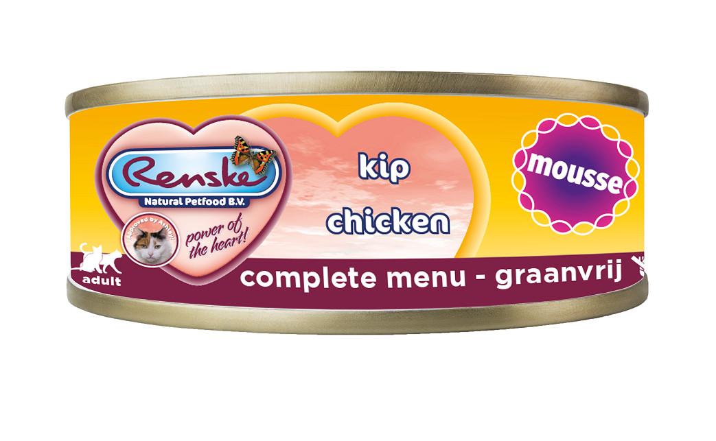 Renske mousse au poulet pour chat (70 gr)