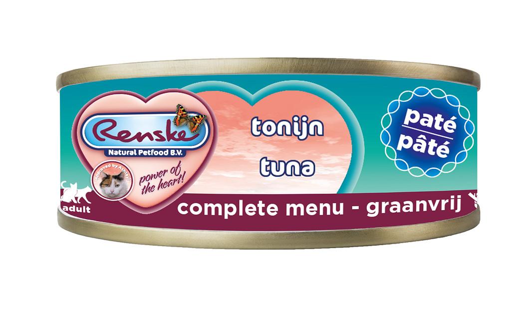 Renske pâtée de thon pour chat (70 gr)