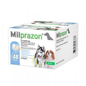 Milprazon Ontwormingskuur hond en puppy (0,5 - 5 kg