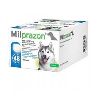 Milprazon 12,5 mg/125 mg  voor de hond