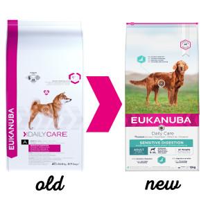 Eukanuba Daily Care Adult Sensitive Digestion pour chien