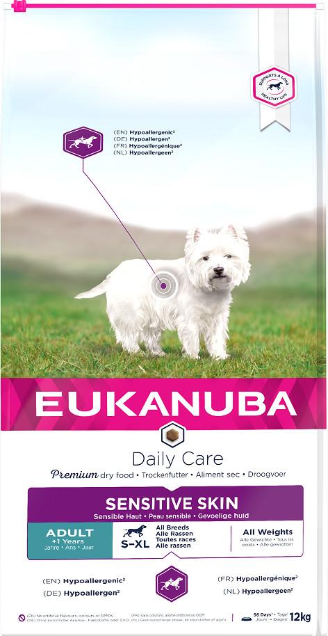 Eukanuba Daily Care Sensitive Skin Hondenvoer