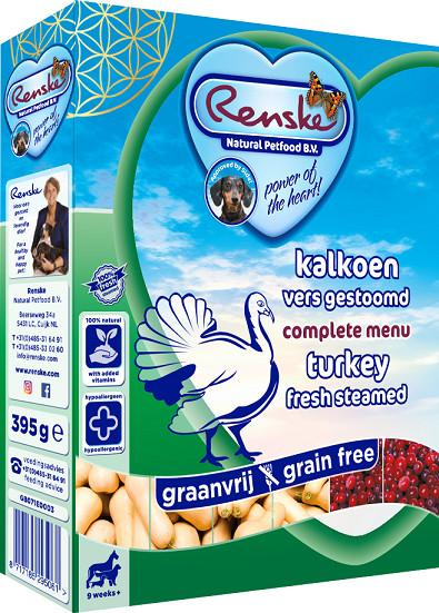 Renske Sans Céréales Dinde pour chien