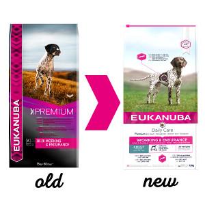 Eukanuba Adult Working & Endurance pour chien
