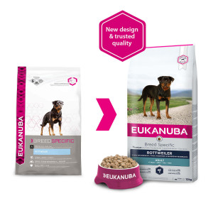 Eukanuba Breed Specific Rottweiler pour chien