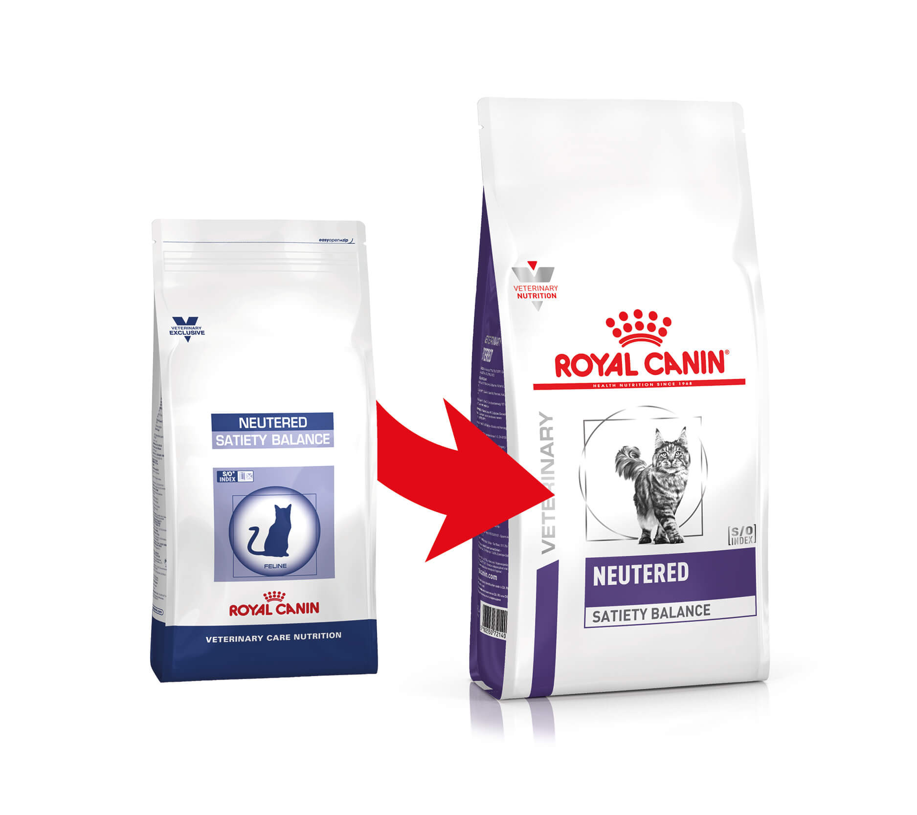 Royal Canin Veterinary Neutered Satiety Balance pour chat