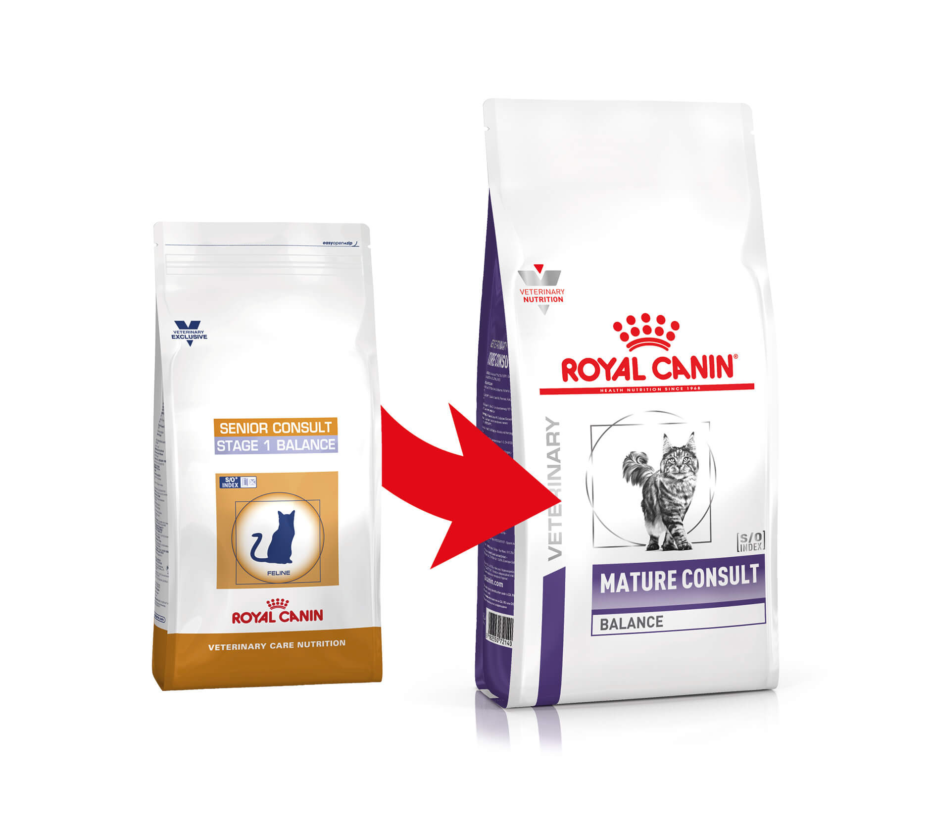 Royal Canin Veterinary Mature Consult Balance pour chat