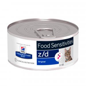 Hill's Prescription Z/D Food Sensitivities pâtée pour chat 156 g