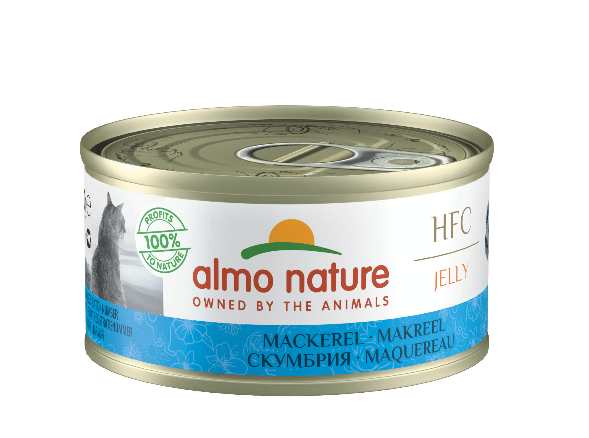 Almo Nature HFC Jelly Maquereau pour chat