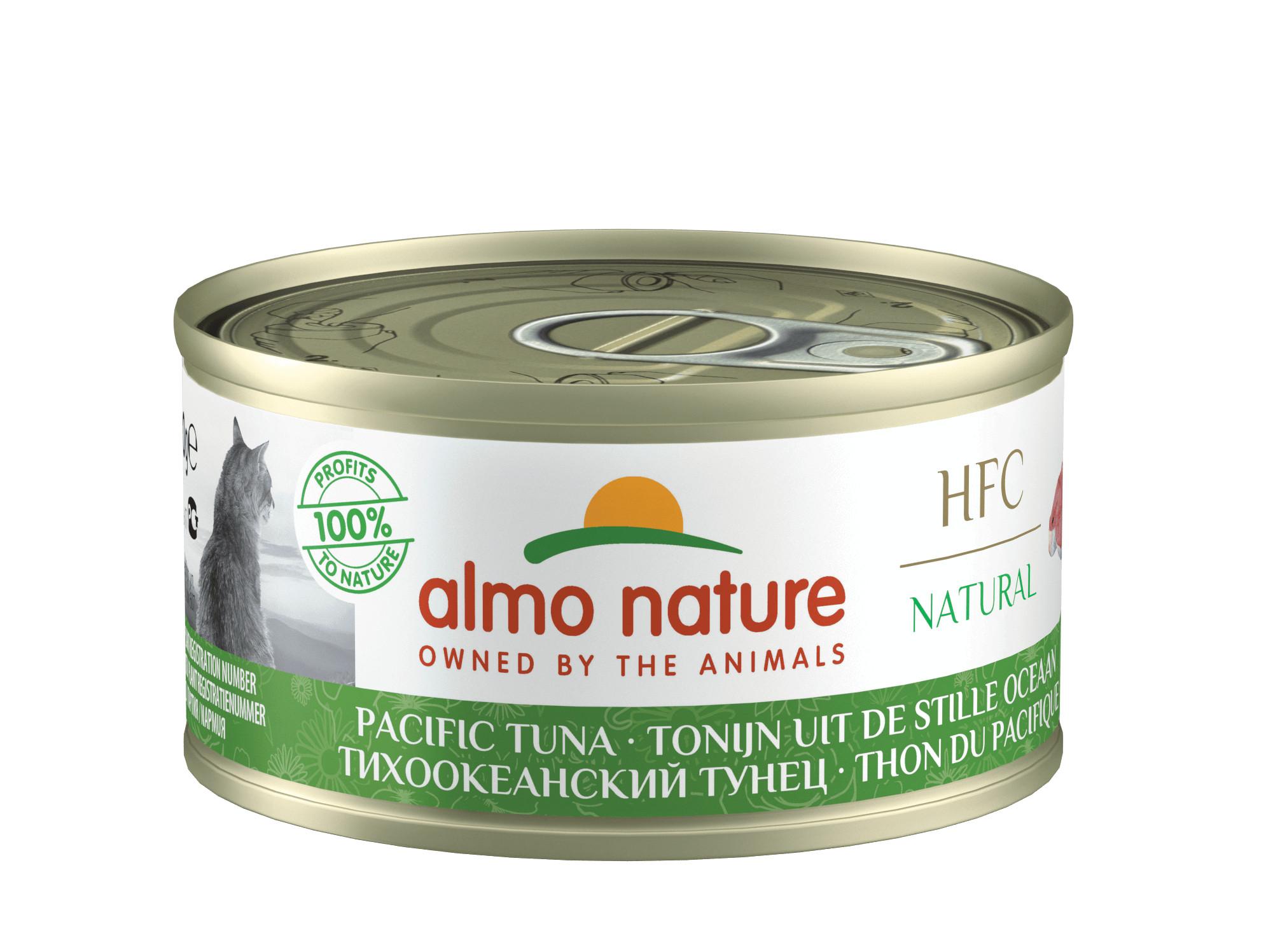 Almo Nature Thon du Pacifique pour chat