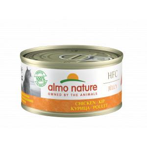 Almo Nature HFC Jelly de poulet impérial pour chat