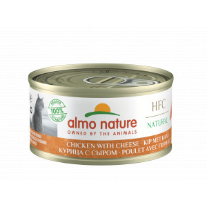 Almo Nature poulet et fromage naturel 70 gr