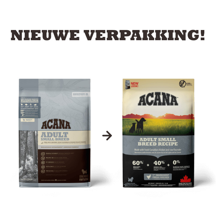 Acana Heritage Adult Small Breed pour chien