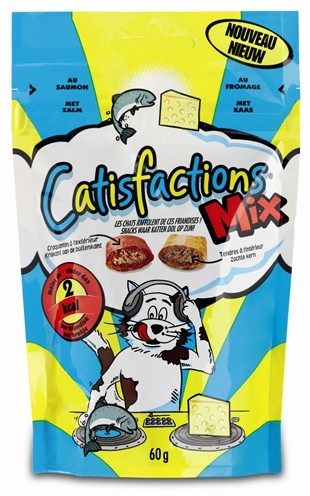 Catisfactions Mix kattensnoep