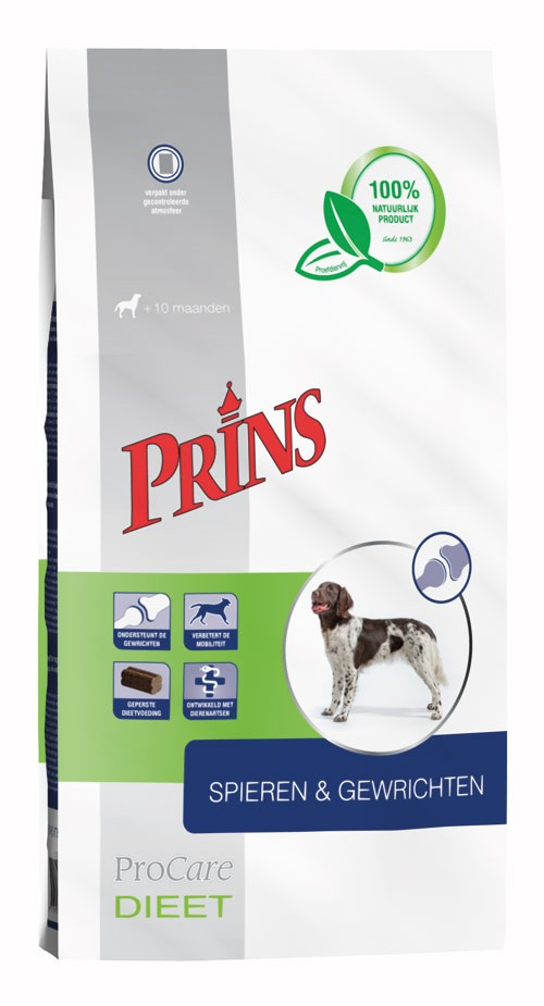 Prins Procare Dieet Spieren & Gewrichten voor de hond