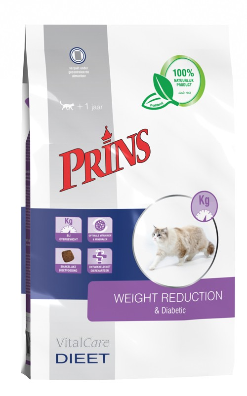 Prins Vitalcare Diet Weight Reduction & Diabetic pour chat