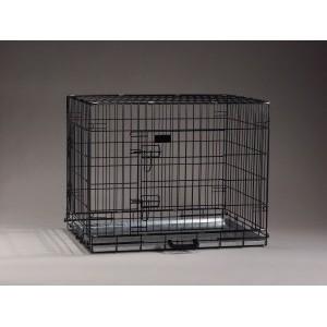 Caisse de transport Noir 63 x 55 x 61 cm pour chien