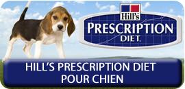 Hill's precription diet pour Chien